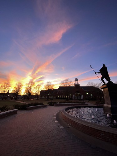 Campus Sunset