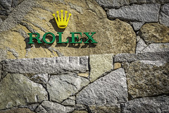 Rolex Sign Wall