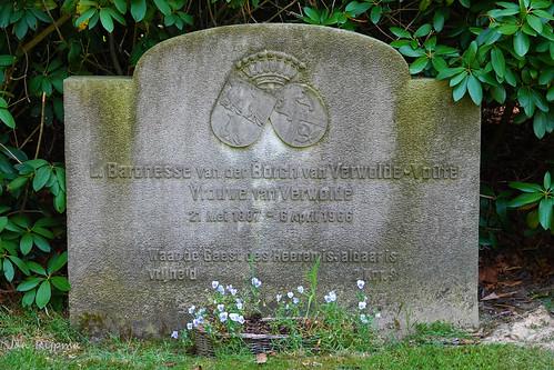L.Baronesse van der Borch van Verwolde-Voute, Vrouwe van Verwolde, 21 Mei 1887 - 6 April 1966, Waar de Geest des Heeren is aldaar is vrijheid  2 Kor.3