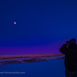 Observing the Moon with Binoculars (Dec 8, 2019)