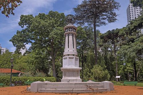 Columna Meteorologica - Jardín Botánico Carlos Thays