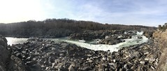 The falls at the Great Falls of Maryland