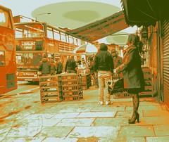Street Market East London 7 Tones