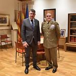 Visita Tinenet General J. Gan Pampols