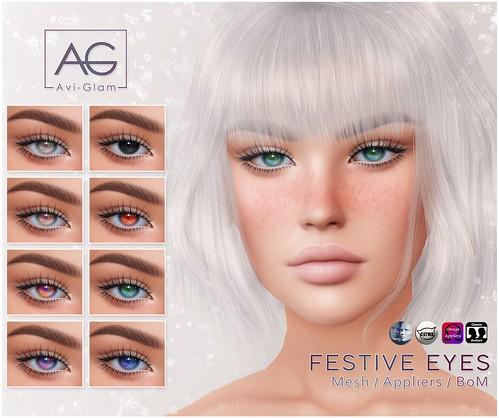 ⭐️🎄 Festive Eyes 🎄⭐️
