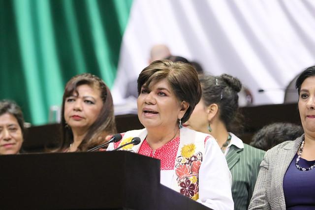 03/12/2019 Tribuna Dip. María Hernéndez Pérez