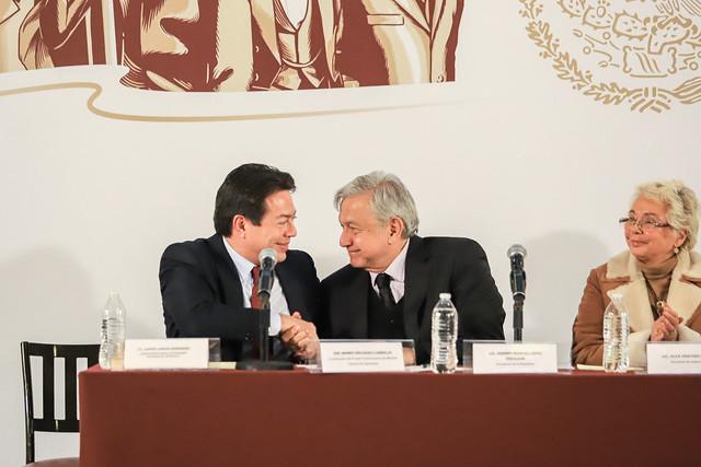 15/01/2019 Reunión de los Diputados de coalición juntos haremos historia con AMLO