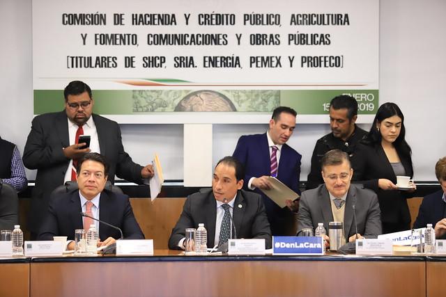 15/01/2019Tercera Comisión de la Permanente