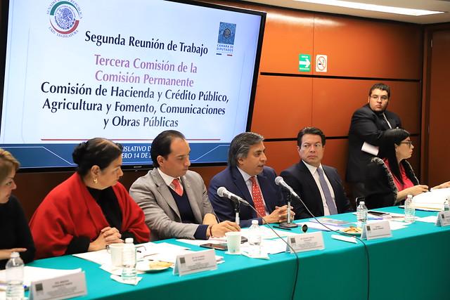 14/01/2019 Segunda reunión de la tercera comisión- Jonathan Ernest Heath y Gerardo Esquivel Hernández