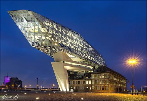 Port Architecture, Antwerp, Belgium