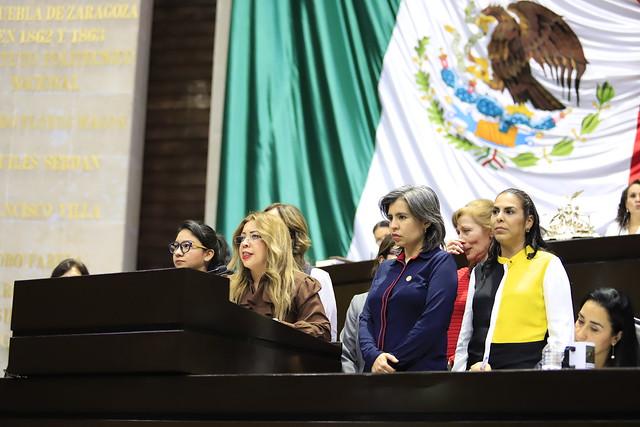 16/01/2019 En tribuna Dip. Sandra Paola González Castañeda