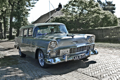 Chevrolet Beauville Station Wagon 1956 (2540)