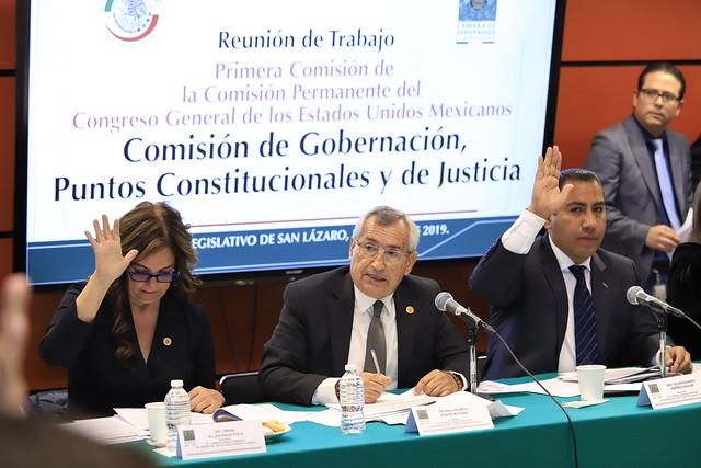 23/01/2019 Primera Comisión de la Permanente