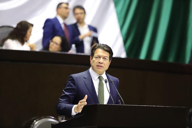 16/01/2019 En tribuna Dip. Mario Delgado Carrillo