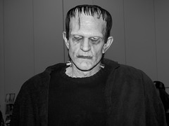 This guy captured the look but he just was too short to be Frankenstein's Monster.