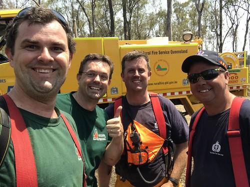 QLD & TAS crews meet