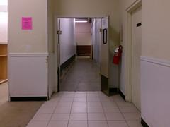 Hallway to the main back stockroom(s)