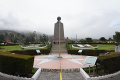 Straddle the Equator in Quito.