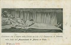 Palermo - Simulacro dell'Assunzione di Maria in Cielo