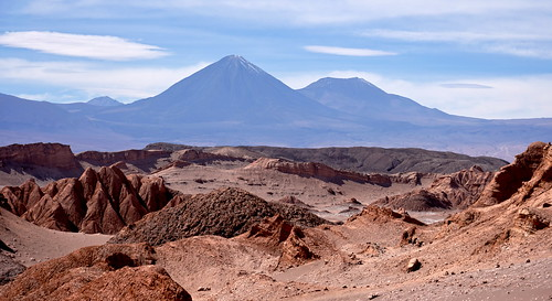 Impressive volcano