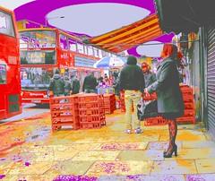 Street Market Purple Ceiling