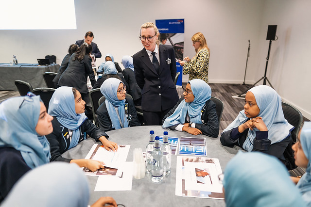 London City Airport STEM in Aviation 2019 event with ELBA