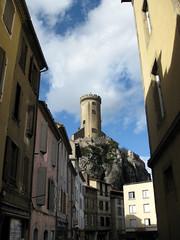 FR11 3456 Le Château de Foix. Foix, Ariège, Midi-Pyrénées