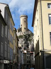 FR11 3432 Le Château de Foix. Foix, Ariège, Midi-Pyrénées