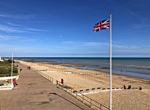 Salute the Flag at Bexhill Beach