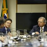 Reunião com o ministro Paulo Guedes e membros da Comissão de Seguridade Social e Família - Dezembro/2019