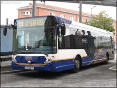 Heuliez Bus GX 327 – Tisséo – Réseau Urbain / Tisséo n°0607
