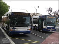 Heuliez Bus GX 317 GNV – Tisséo – Réseau Urbain / Tisséo n°0202 & Heuliez Bus GX 327 – Tisséo – Réseau Urbain / Tisséo n°0607