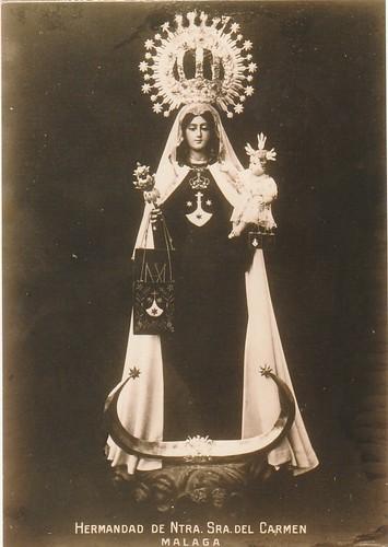 9. Virgen del Carmen que fue destruida en 1931