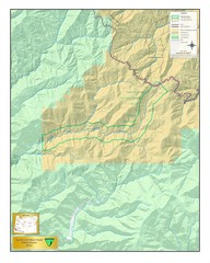 North Fork Silver Wild and Scenic River Map