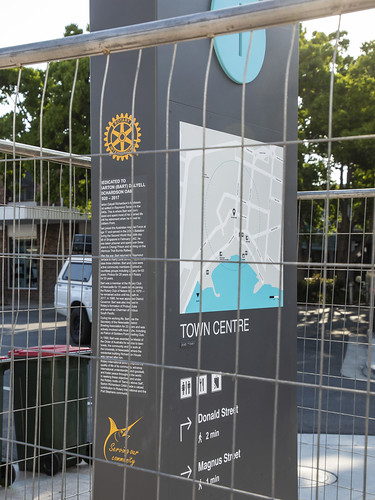 Nelson Bay Rotary Town Clock