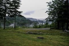 Summit Lake, with Mist ~ Washington State