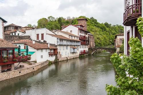 Pont sur la Nive [Pays Basque, FRANCE]