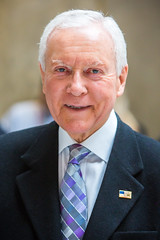 Former United States Senator Orrin Hatch