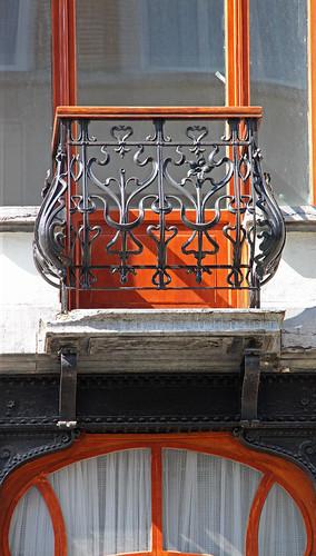 BRUXELLES-Art nouveau  - Arch. E. LE GRAVE (-/-)
