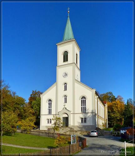 Kirche zu Crostau (Chróstawa)