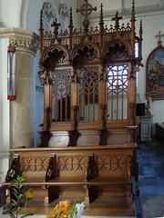 Terdeghem L' église Saint-Martin intérieur (6)