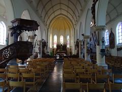 Terdeghem L' église Saint-Martin intérieur (1)