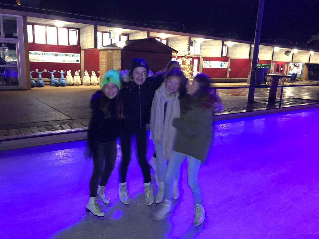 Schlittschuhlaufen Mädchenriege