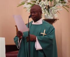 Saying Mass