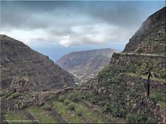 La Gomera 2019 - Blick von Chipude
