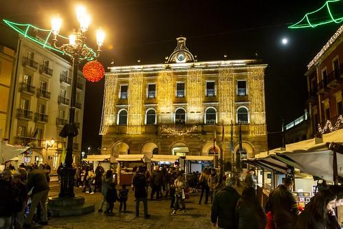 Mercado en la Plaza Mayor. Gijón.