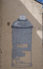 Graffeur sachant graffé