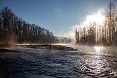 Morning River Mist