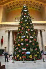 Chicago Union Station Christmas Tree 12-6-19_4958
