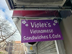 Violet's Is Closed :-(